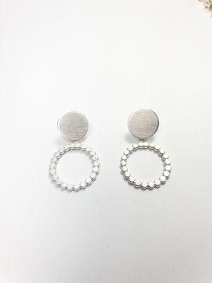 Ohrringe in Silber