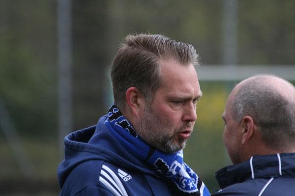 Enttäuschung bei Trainer Thorsten Wietfeld (SC Staaken)