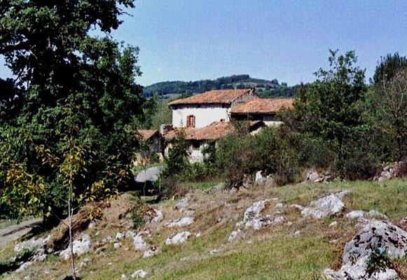 Face sud du hameau