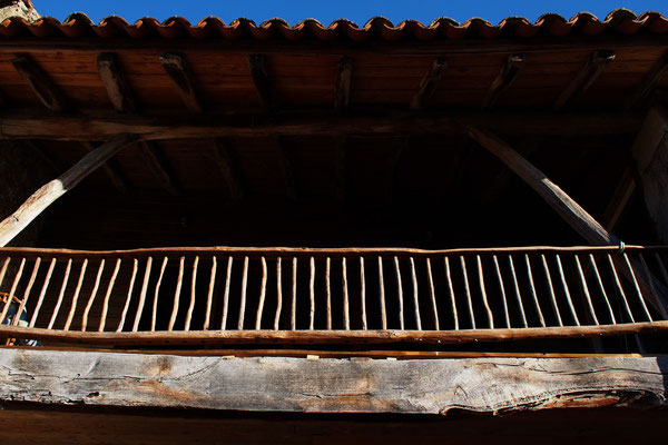 Le balcon du gîte