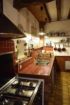 La cuisine du gîte