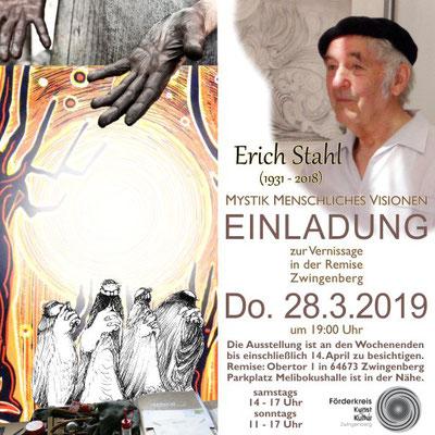 Erich Stahl - Mystik Menschliche Visionen