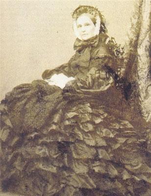 Н. Н. Пушкина-Ланская. Начало 1860-х гг. Фотография.