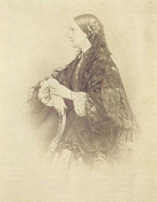 Н. Н. Пушкина-Ланская. Конец 1850-начало 1860-х г.г. Фотография