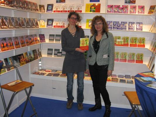Mit meiner Verlegerin Frau Maria Weise vom net-Verlag