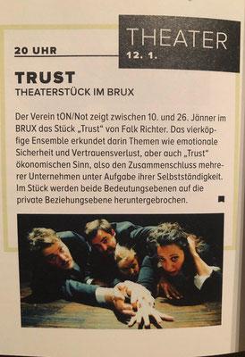 6020 Das Stadtmagazin // Jänner 2019, 17. Jahrgang, Ausgabe Nr. 231