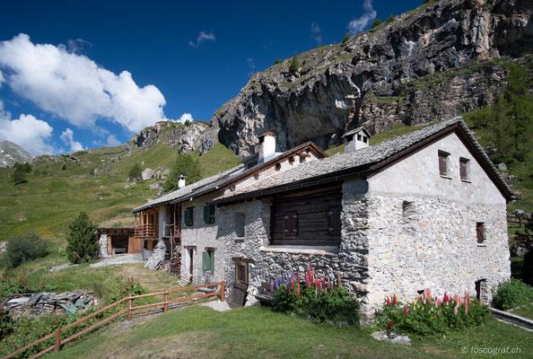 Ferienhaus auf Alp