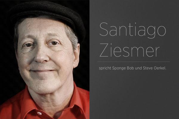 Santiago Ziemser - Synchronsprecher