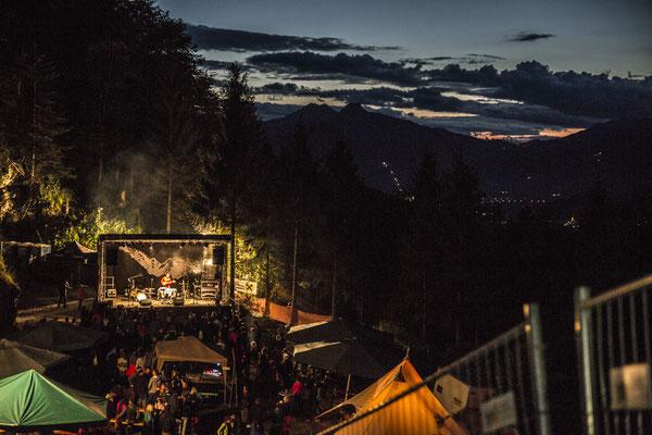Alter Steinbruch STOABEATZ Festival Walchsee Tirol