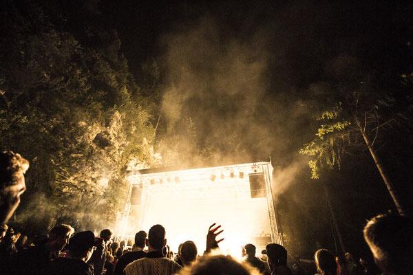 Stage @ STOABEATZ Festival Walchsee Tirol
