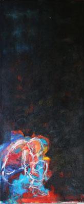 """Klein""  |  50 x 120 cm  |  Acryl op linnen"