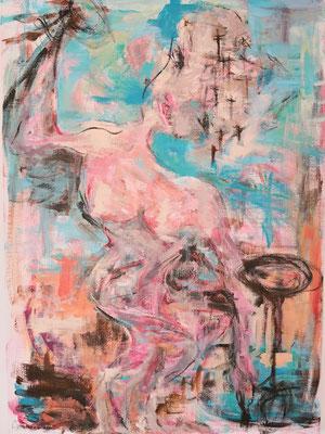 """Wankel evenwicht""  |  70 x 100 cm  |  Acryl op linnen"