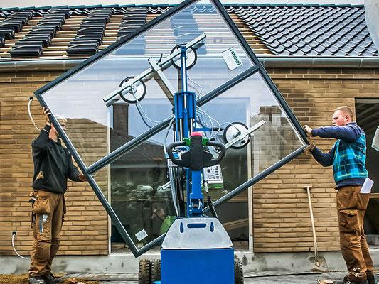 Glaslifter 360 Rotation