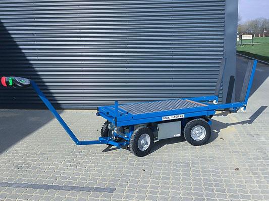 ErgoMover Manipulator Transportwagen elektrischer Antrieb