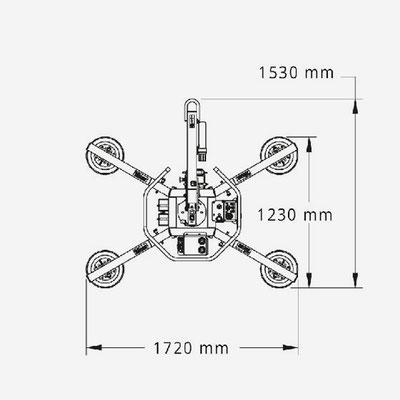 Glassauger MRT4 Maße
