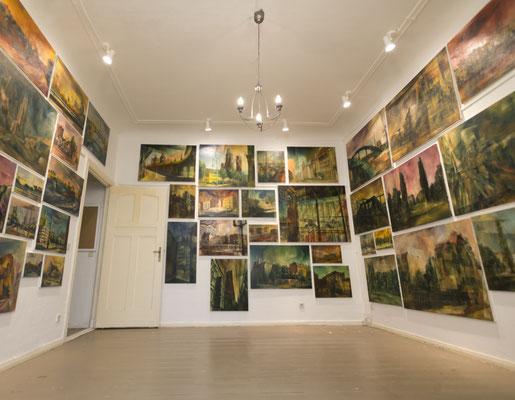 Atelier im Horstweg, Berlin, 2018