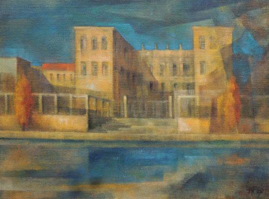 WV 1336: Museum Barberini, 2020, 30x40cm