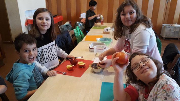 Das Team Gefüllte Äpfel