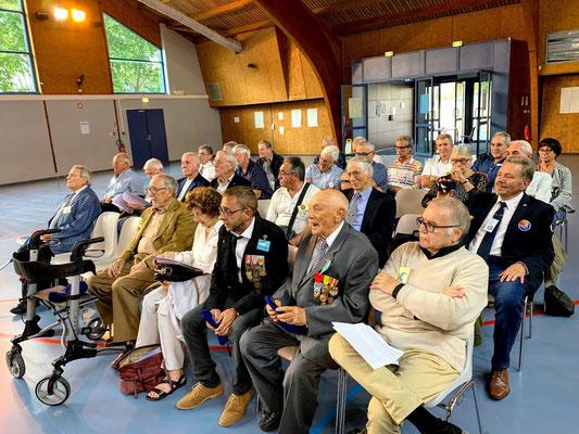 Les adhérents présents à Saint-Brès