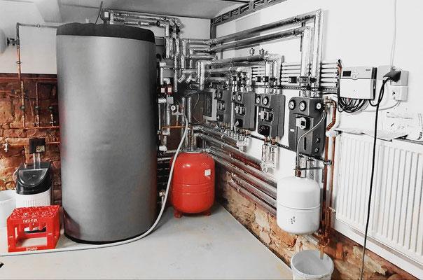 Pufferspeicher für Warmwasser