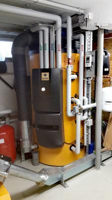Wasserspeicher für Warmwasser