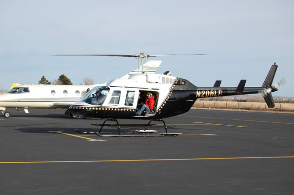 Colorado oil and gas helicopter survey