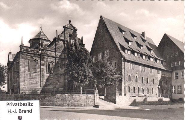 Kreuzkirche nach 1945
