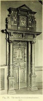 Bild 3: Tür zum Kommissinzimmer