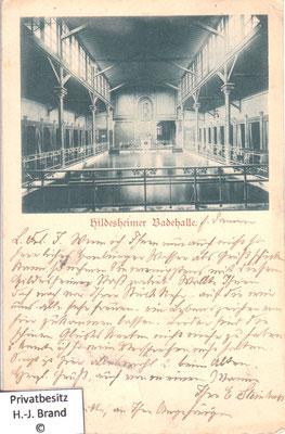 Frauen-Schwimmbad um 1900