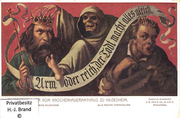Tod, König und Bettler: Arm oder reich, der Tod macht alles gleich