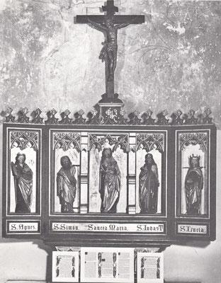 Altar der Laurentiuskapelle