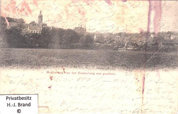 von der Bennoburg aus gesehen