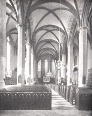 Inneres der Lambertikirche