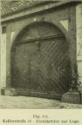 Bild 1: Einfahrt