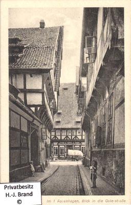 1. Rosenhagen, Blick zur Osterstraße