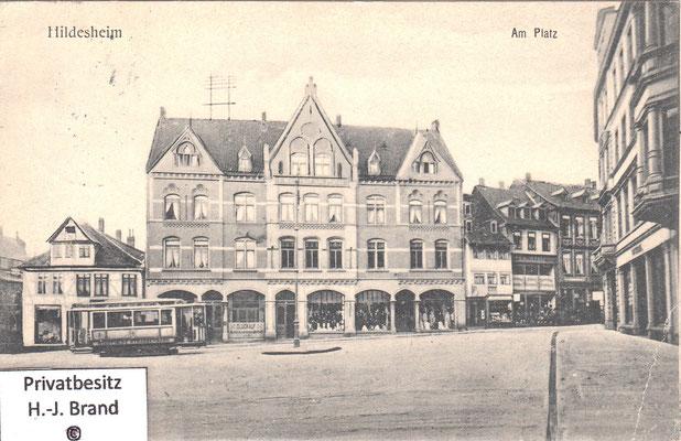 rechts zweigt die Eckemekerstraße ab