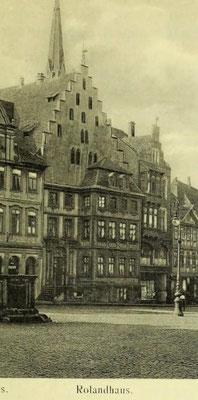 Bild 3: Rolandhaus (Bildausschnitt)