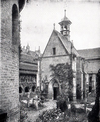 Domfriedhof mit St. Annenkapelle (vor 1945)