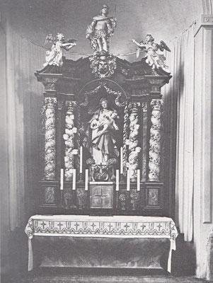 Altar der Pankratiuskapelle