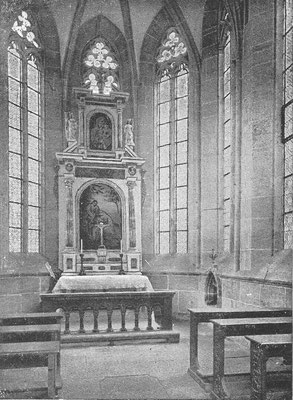 Inneres der St. Annenkapelle (vor 1945)