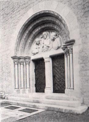 Portal der Bernwardkirche