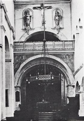 Östliche Prieche und Triumphbogen von Westen (1908-09)