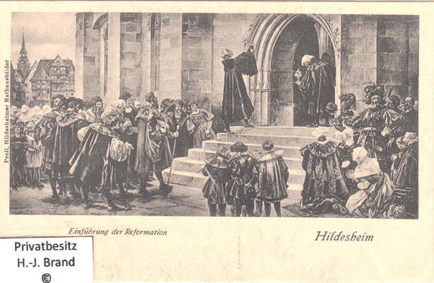 Einführung der Reformation in Hildesheim 1542