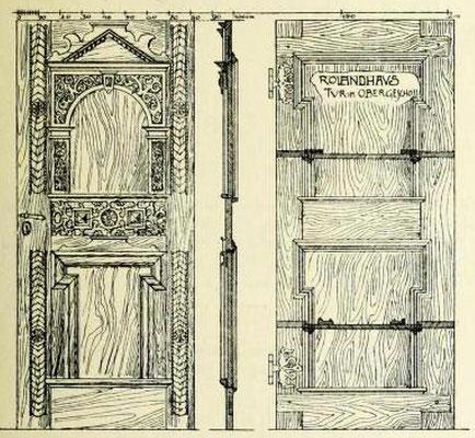 Bild 6: Renaissancetür