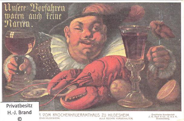 Der Feinschmecker: Unsere Vorfahren waren auch keine Narren