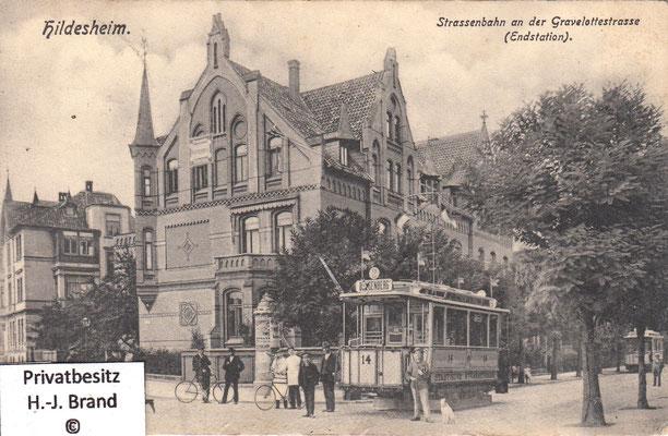 Endstation an der Gravelottestraße