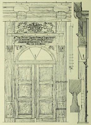 Bild 1: Portal der Großvogtei