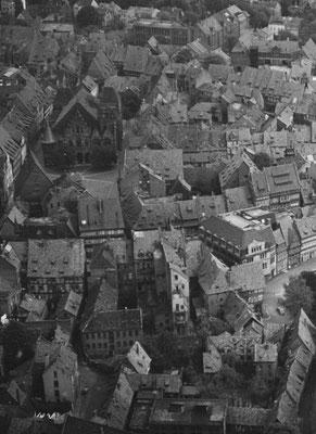 Blick auf das Marktplatzviertel