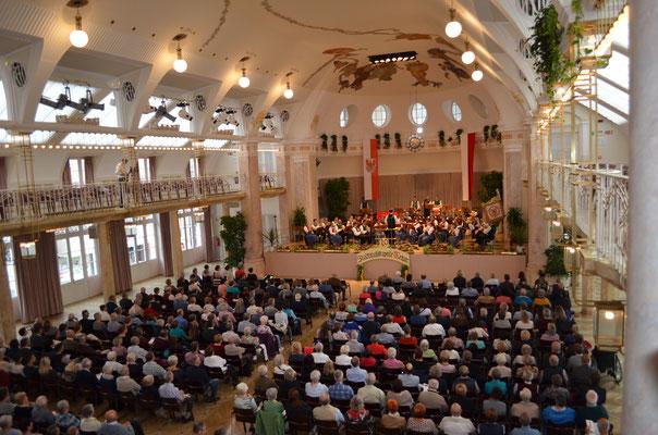 Jubiläumskonzert 2017 - der Kursaal bis zum letzten Sessel gefüllt
