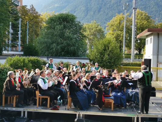 Törggelefescht Meran 2019 mit VINOROSSO - Musikkapelle Burgstall